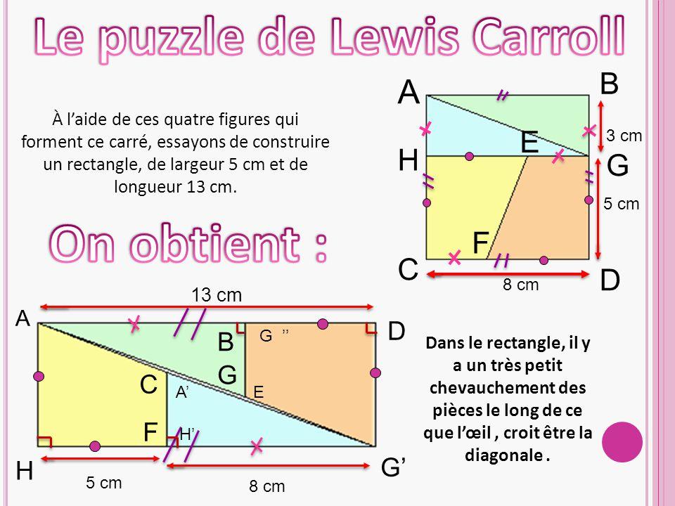 Le puzzle de Lewis Carroll
