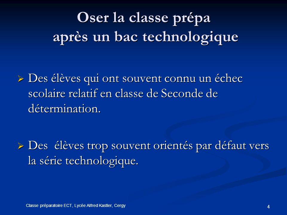 Oser la classe prépa après un bac technologique