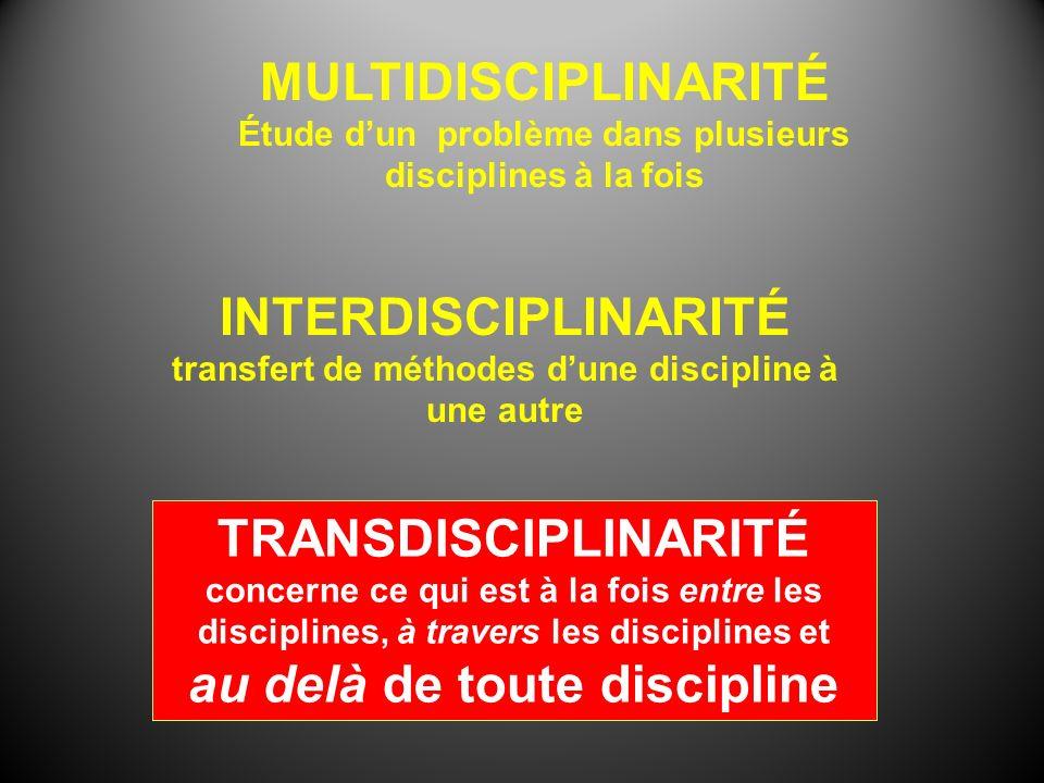 au delà de toute discipline
