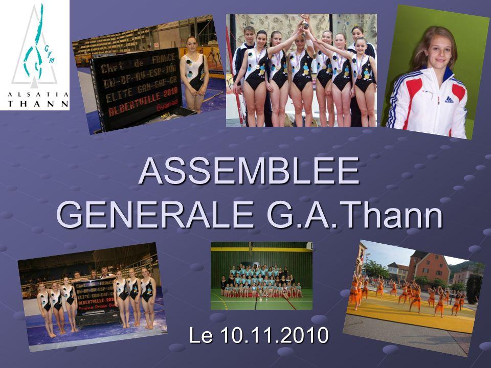 ASSEMBLEE GENERALE G.A.Thann