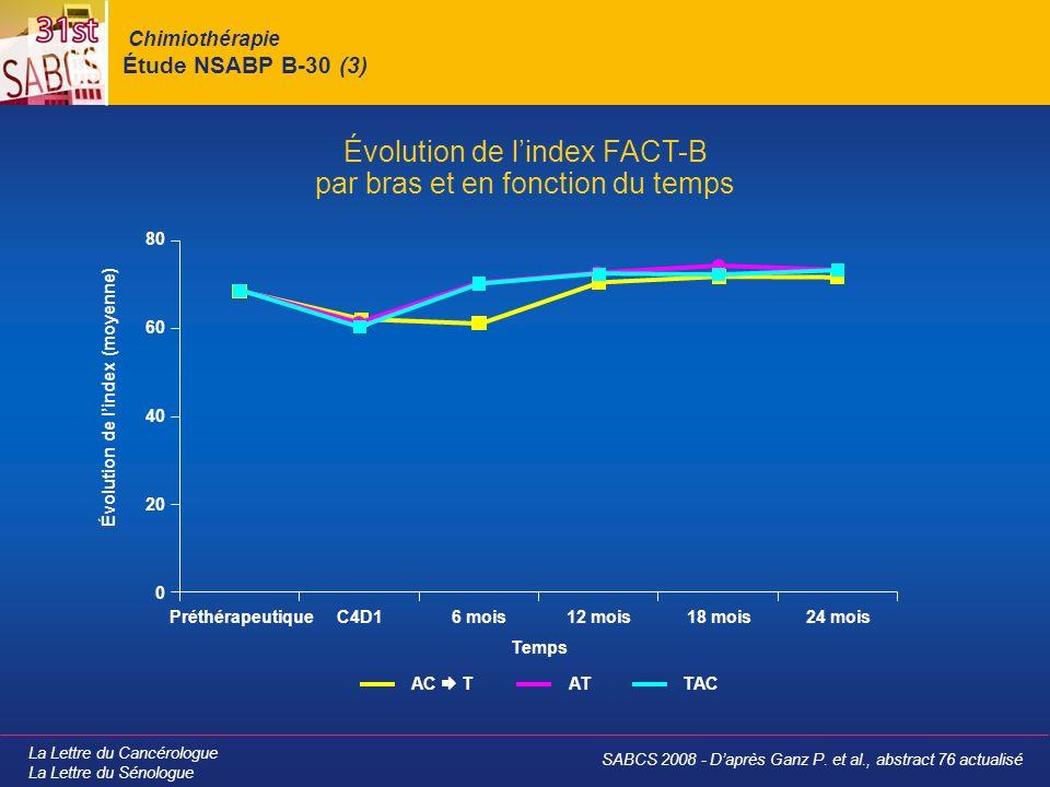 Chimiothérapie Étude NSABP B-30 (3)
