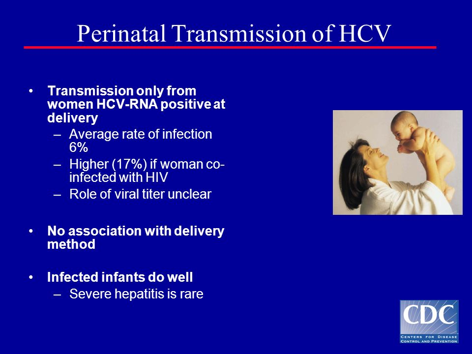 Perinatal Transmission of HCV