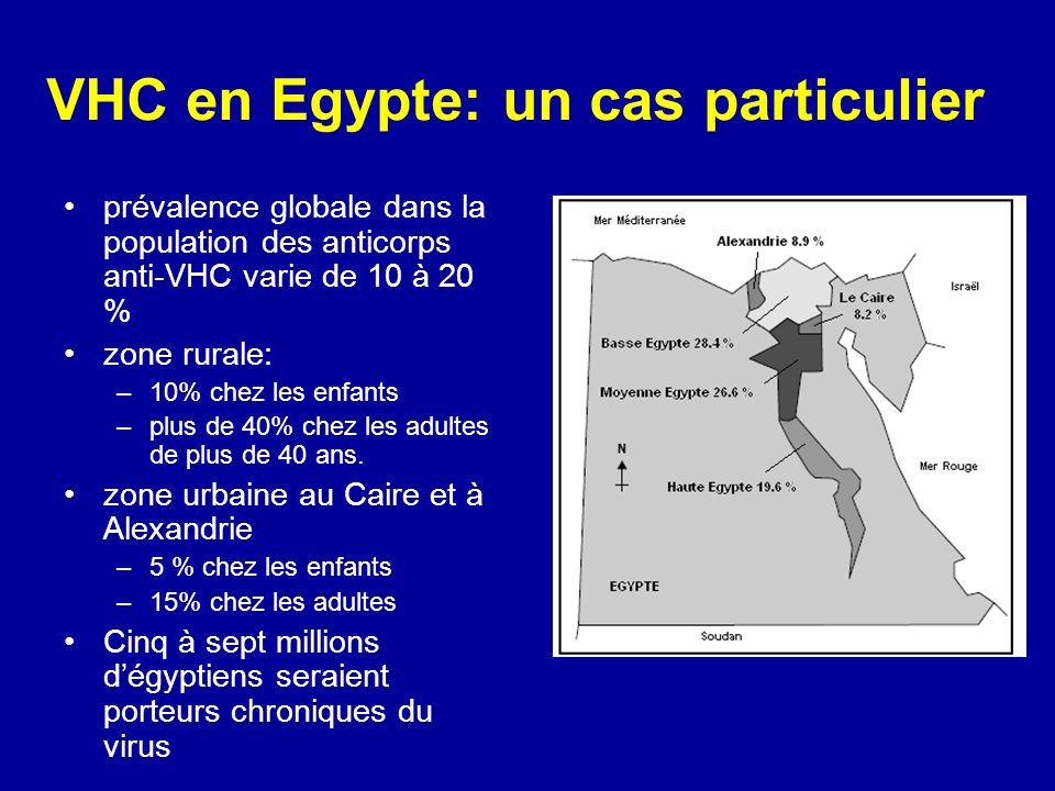 VHC en Egypte: un cas particulier