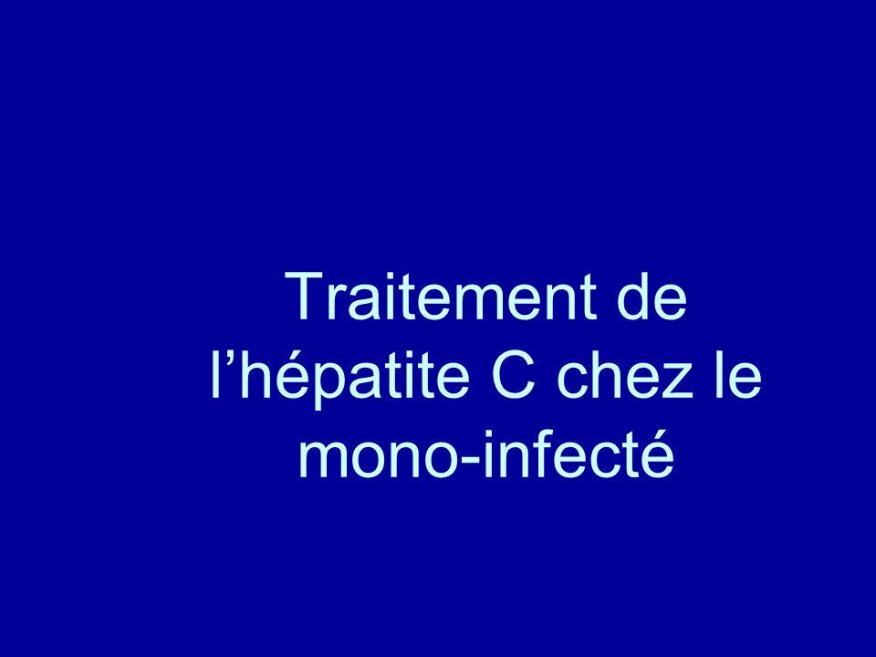 Traitement de l'hépatite C chez le mono-infecté