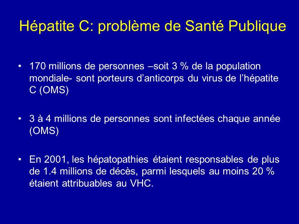 Hépatite C: problème de Santé Publique