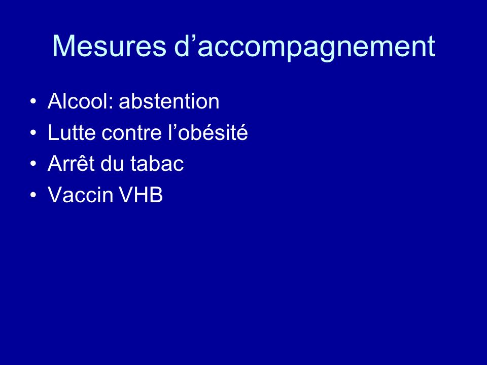 Mesures d'accompagnement