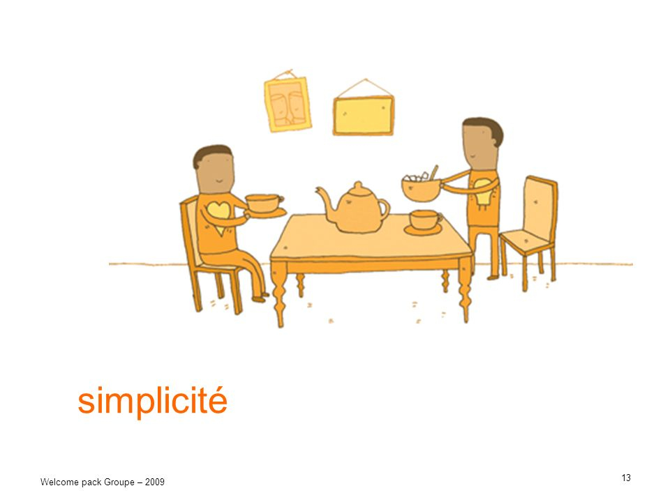 simplicité Welcome pack Groupe – 2009