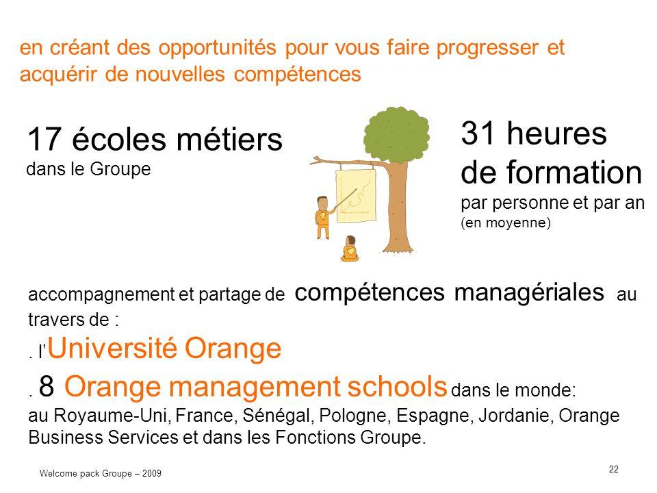 17 écoles métiers dans le Groupe