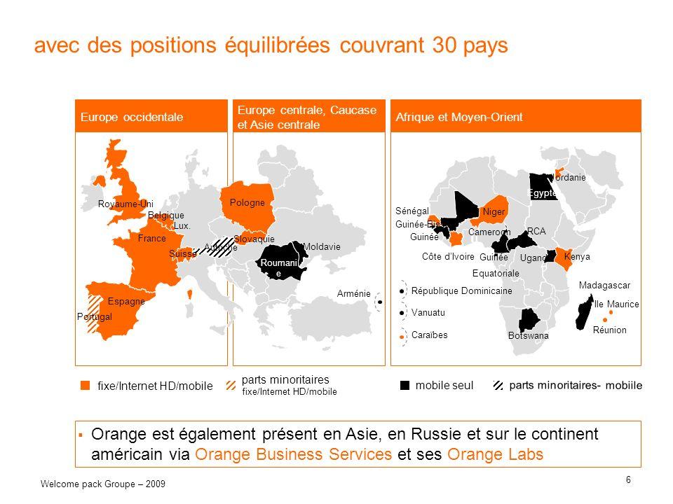 avec des positions équilibrées couvrant 30 pays
