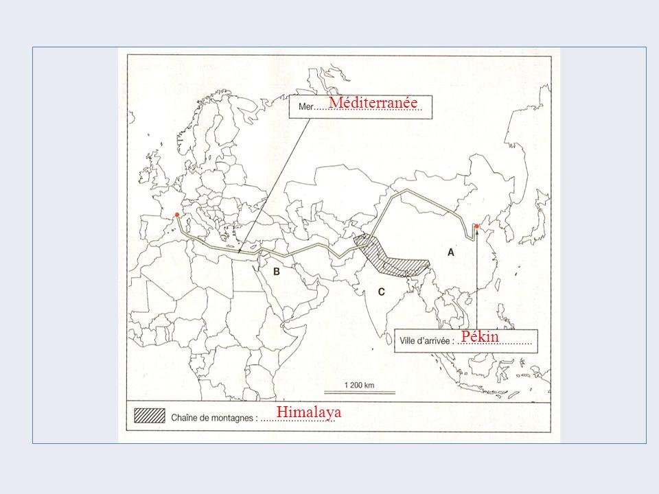 Méditerranée Pékin Himalaya