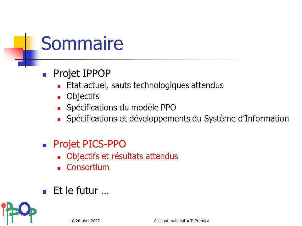 Colloque national AIP-Primeca