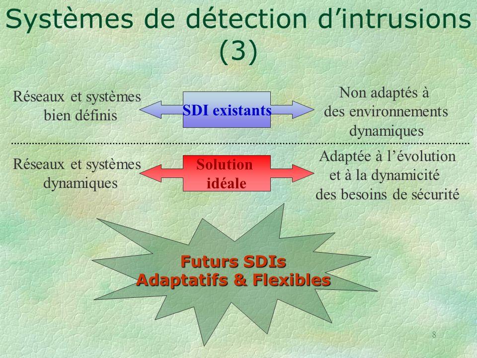 Systèmes de détection d'intrusions (3)