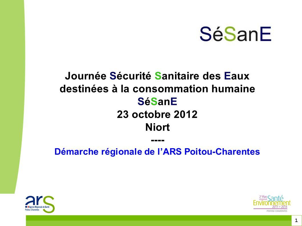 Démarche régionale de l'ARS Poitou-Charentes