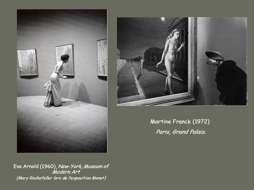 Martine Franck (1972)‏ Paris, Grand Palais.