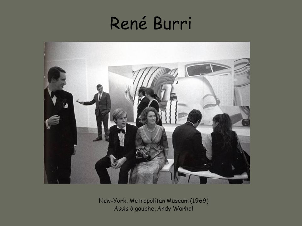 René Burri New-York, Metropolitan Museum (1969)
