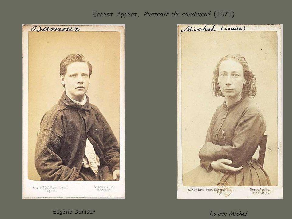 Ernest Appert, Portrait de condamné (1871)