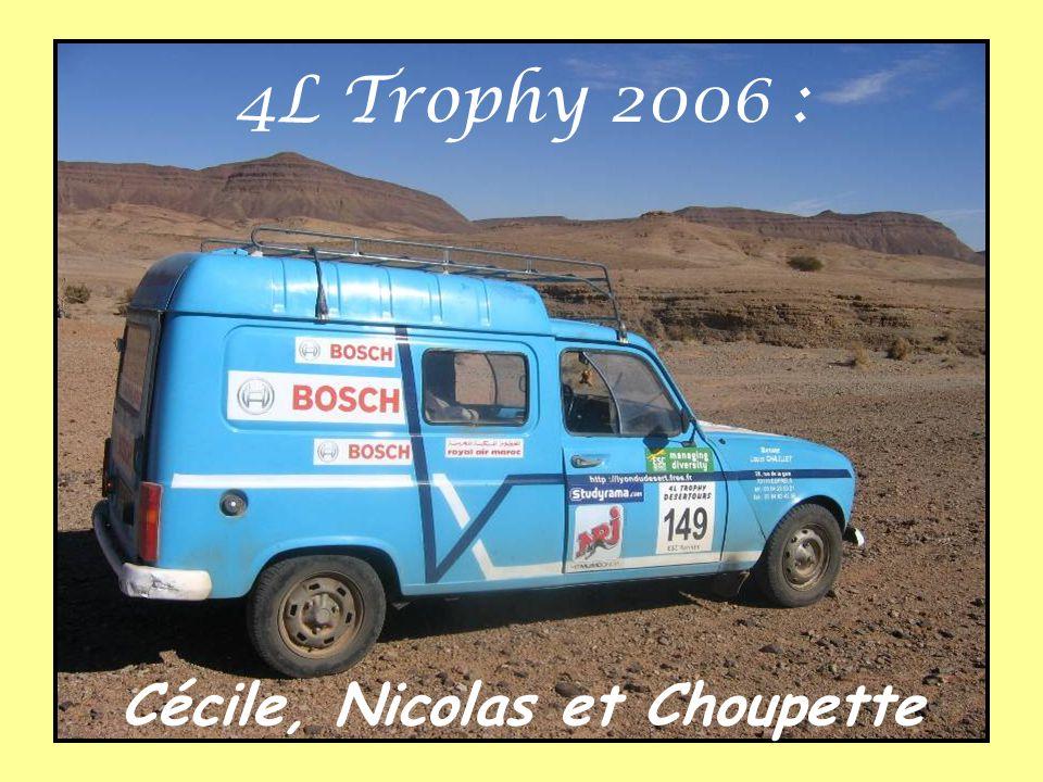 Cécile, Nicolas et Choupette