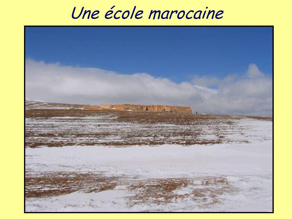Une école marocaine