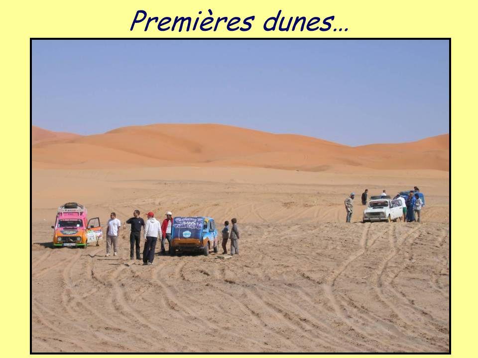Premières dunes…