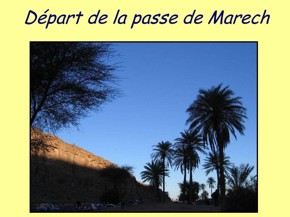Départ de la passe de Marech
