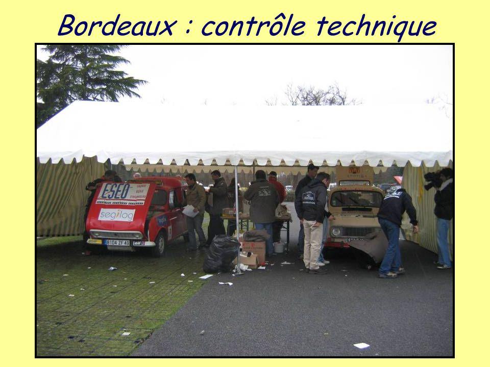 Bordeaux : contrôle technique