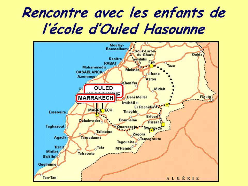 Rencontre avec les enfants de l'école d'Ouled Hasounne