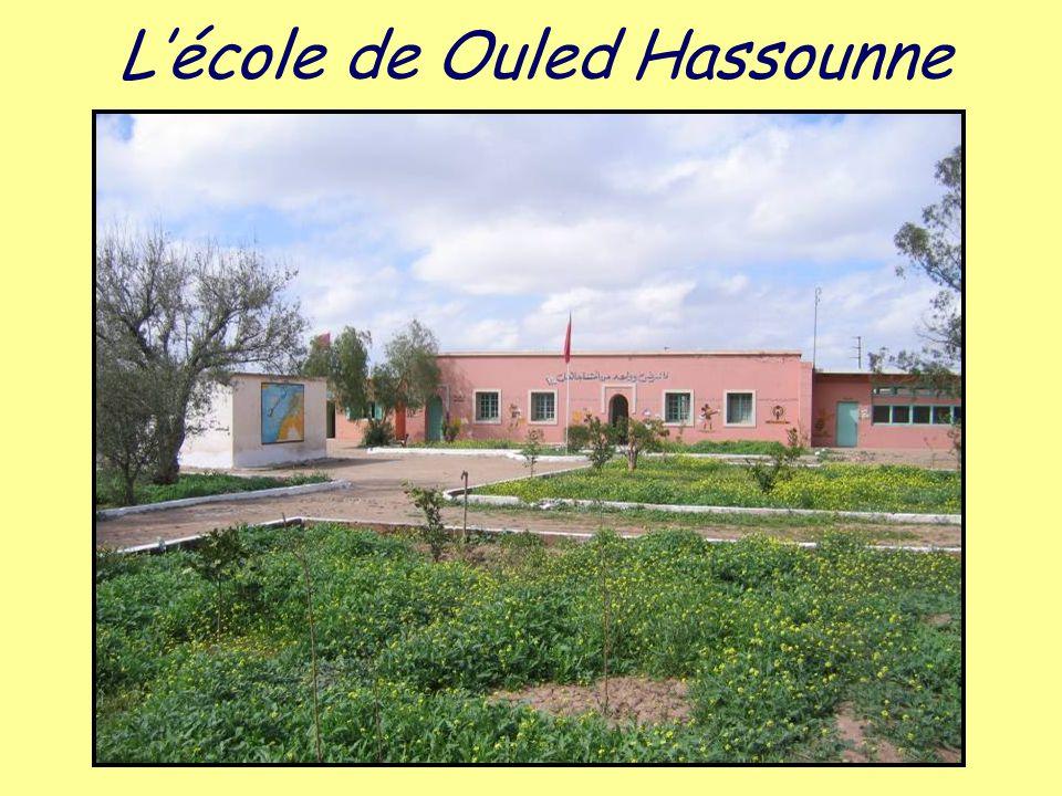 L'école de Ouled Hassounne