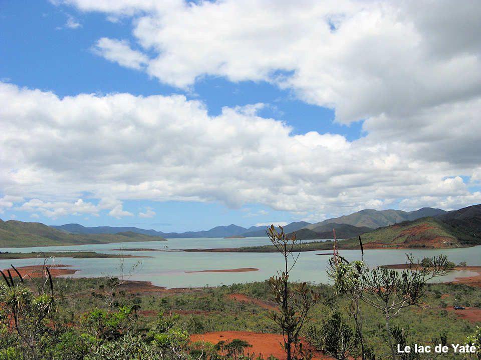 Le lac de Yaté