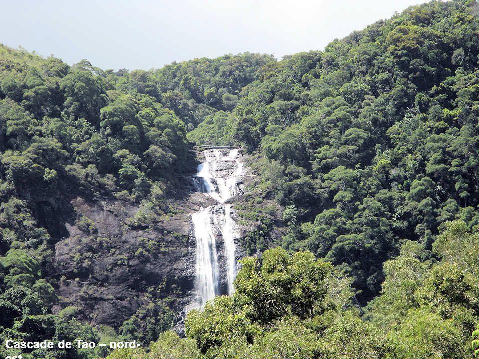 Cascade de Tao – nord-est