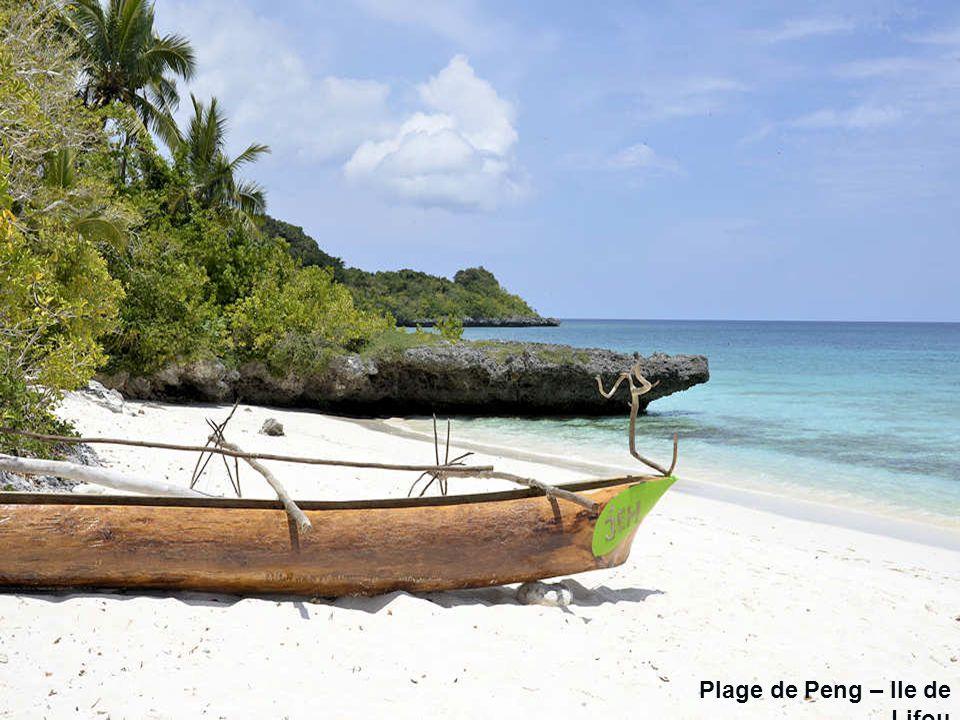 Plage de Peng – Ile de Lifou