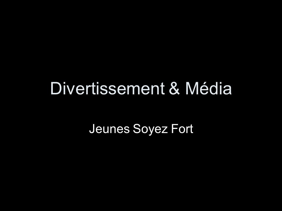 Divertissement & Média