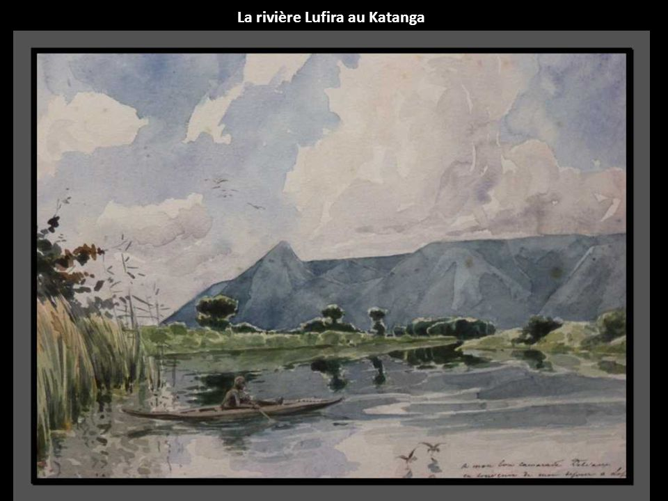 La rivière Lufira au Katanga