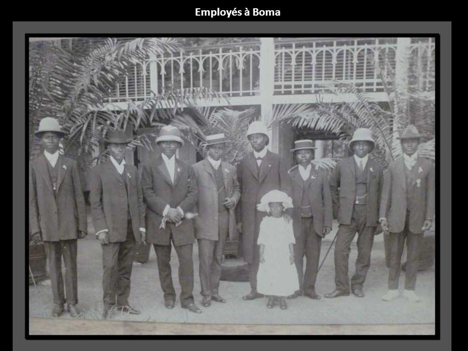 Employés à Boma