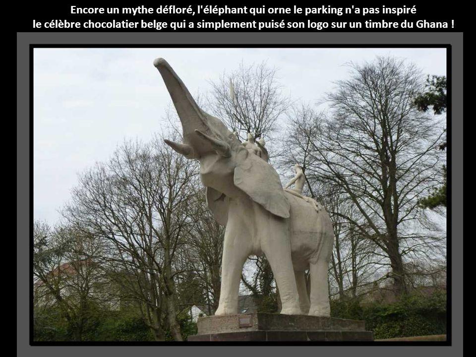 Encore un mythe défloré, l éléphant qui orne le parking n a pas inspiré