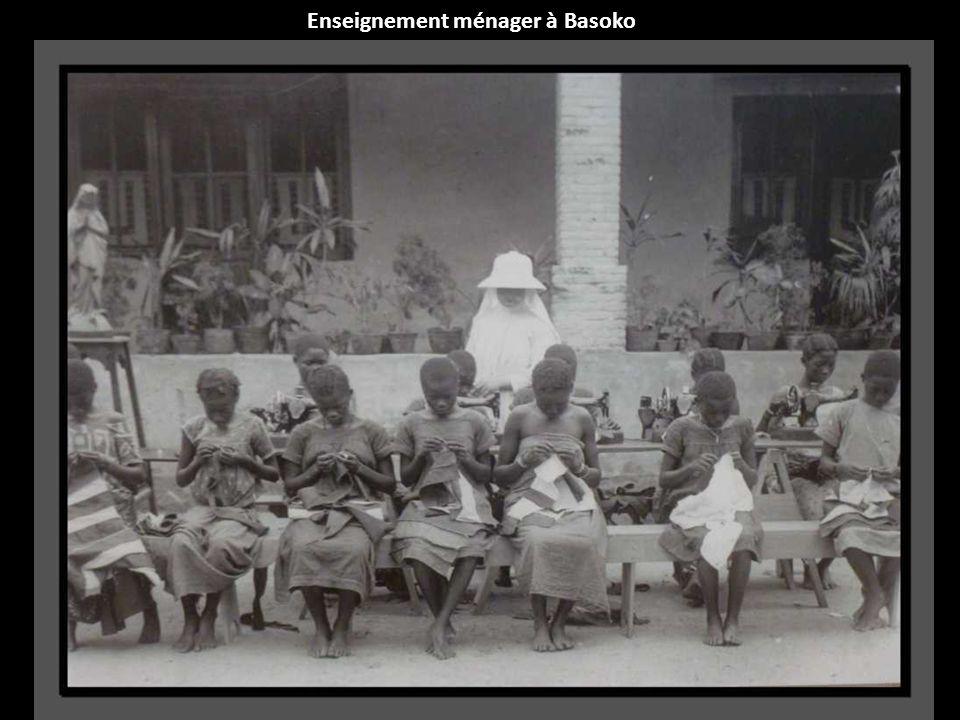 Enseignement ménager à Basoko