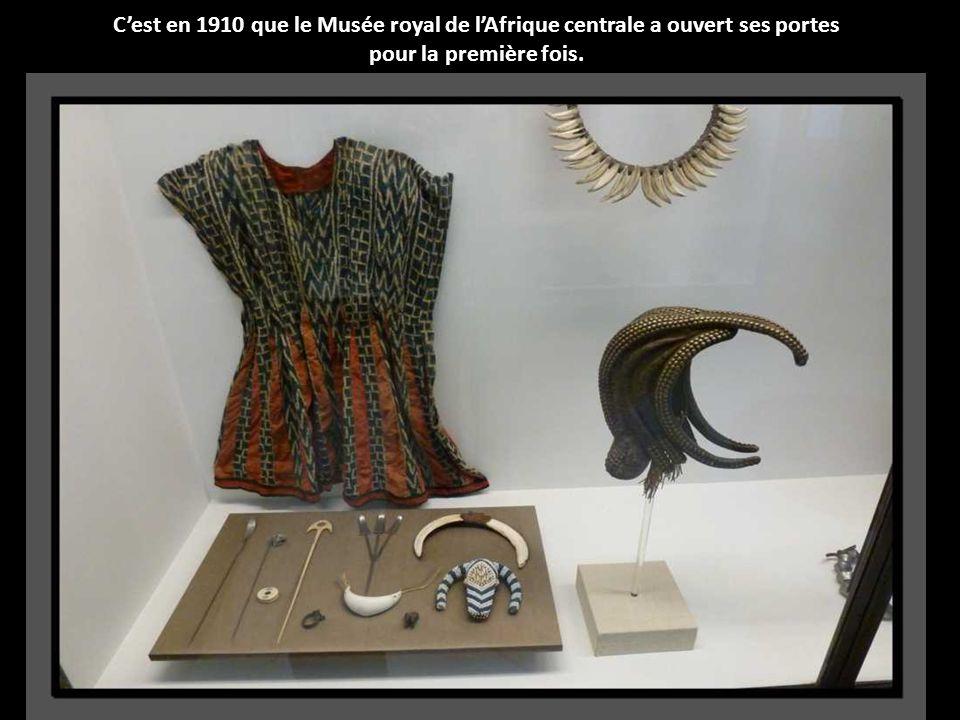 C'est en 1910 que le Musée royal de l'Afrique centrale a ouvert ses portes