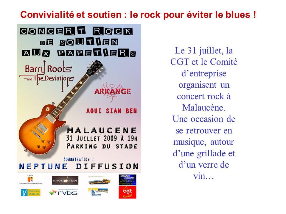 Convivialité et soutien : le rock pour éviter le blues !