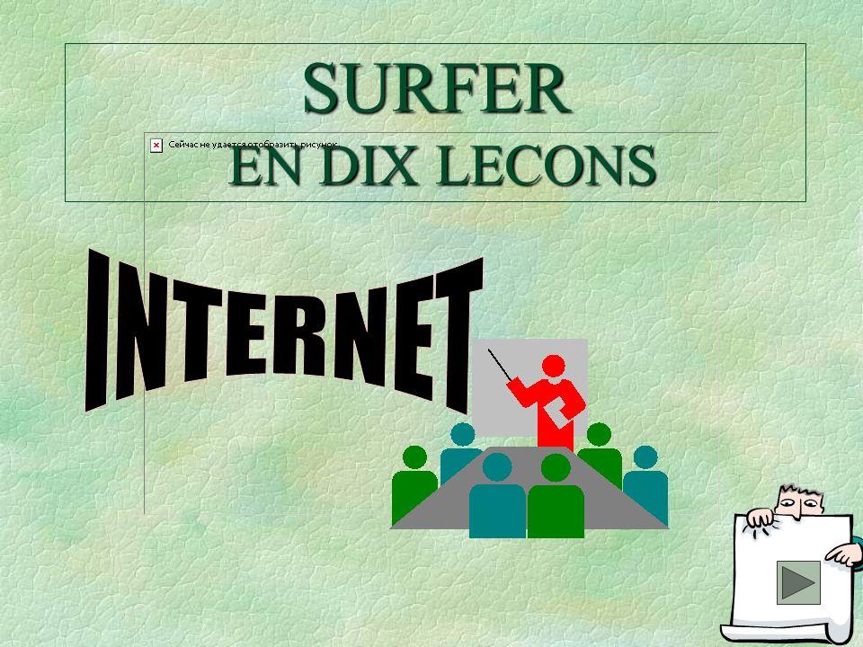 SURFER EN DIX LECONS INTERNET