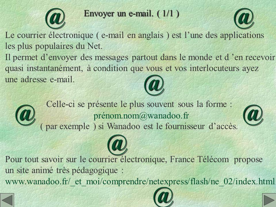 @ @ @ @ @ @ @ Envoyer un e-mail. ( 1/1 )