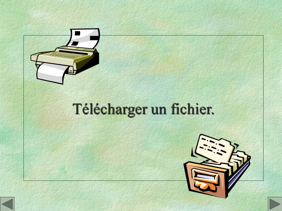 Télécharger un fichier.