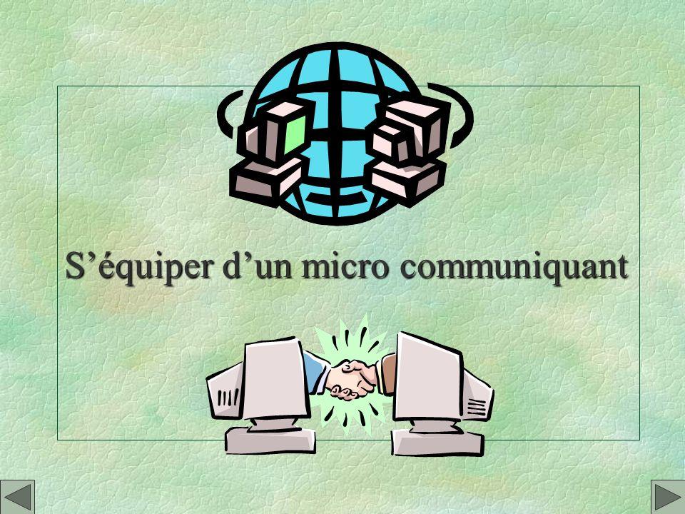 S'équiper d'un micro communiquant