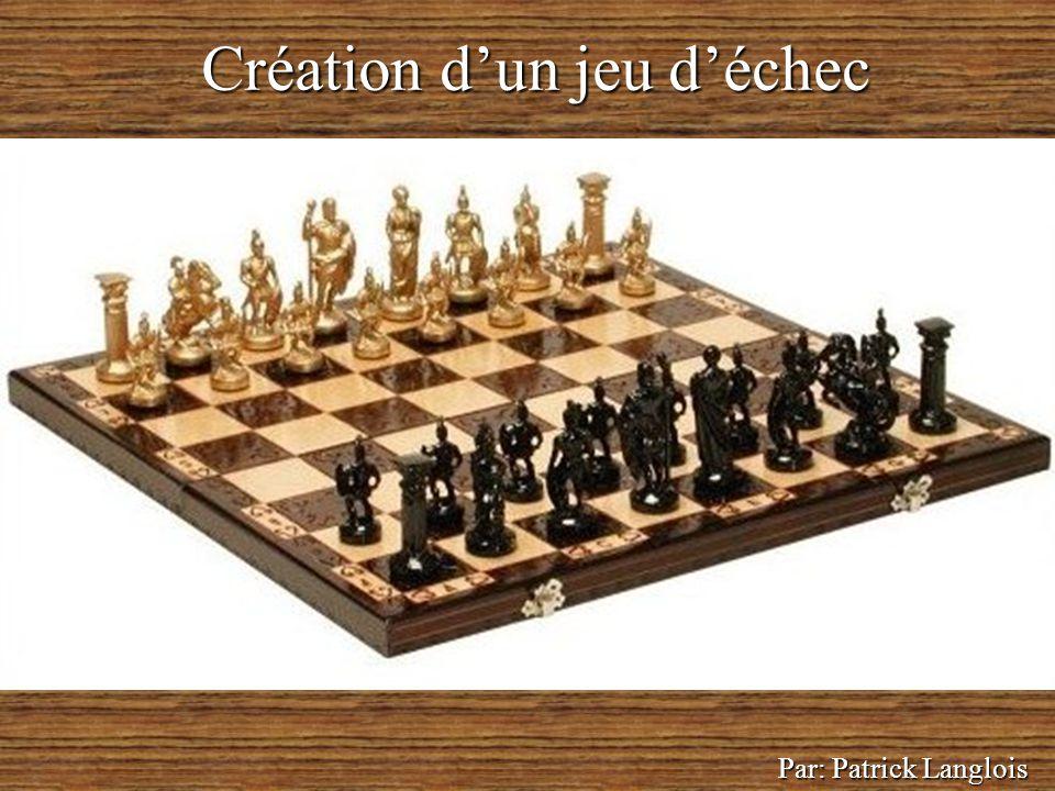Création d'un jeu d'échec