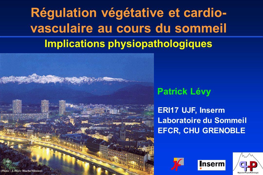 Régulation végétative et cardio-vasculaire au cours du sommeil