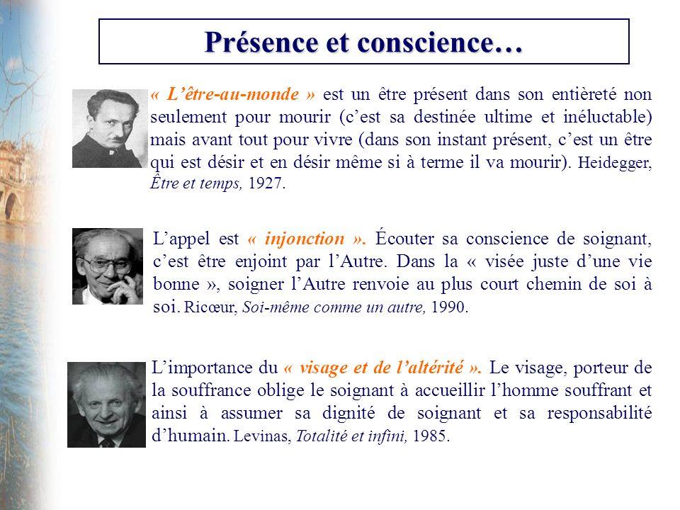 Présence et conscience…