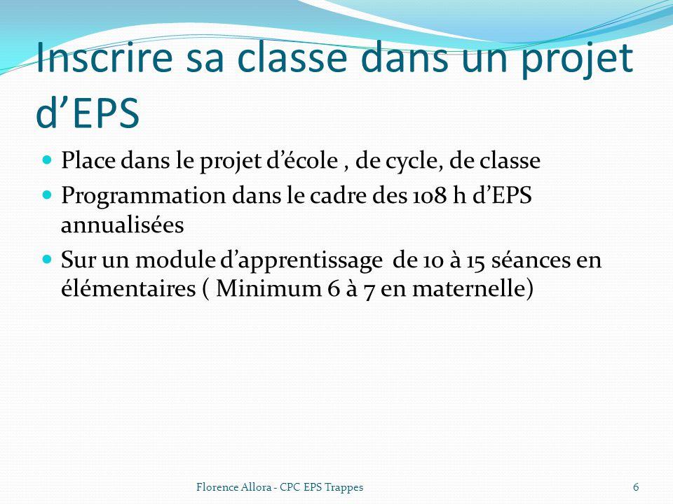 Inscrire sa classe dans un projet d'EPS