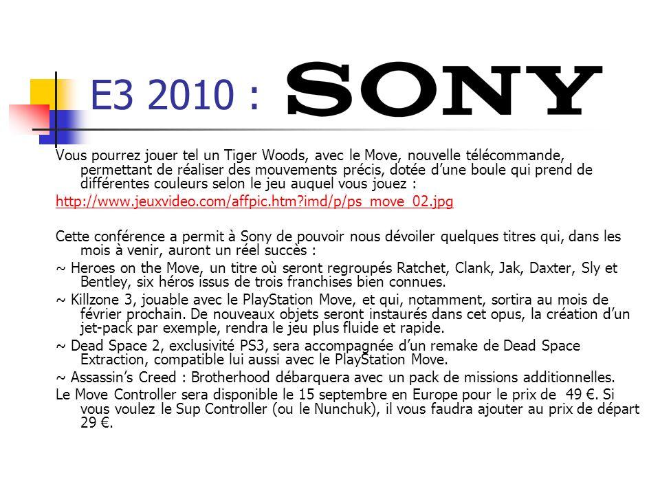 E3 2010 :