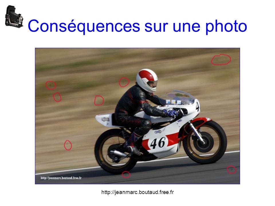 Conséquences sur une photo