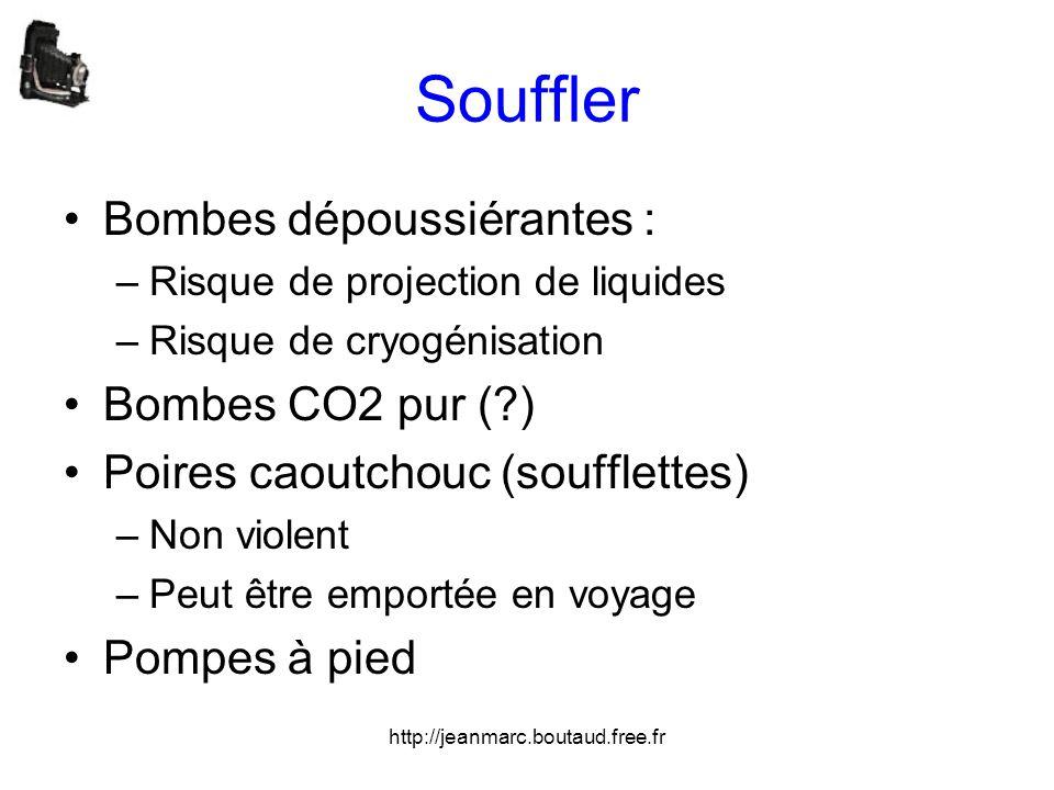 Souffler Bombes dépoussiérantes : Bombes CO2 pur ( )