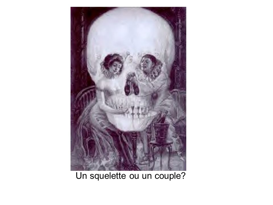Un squelette ou un couple