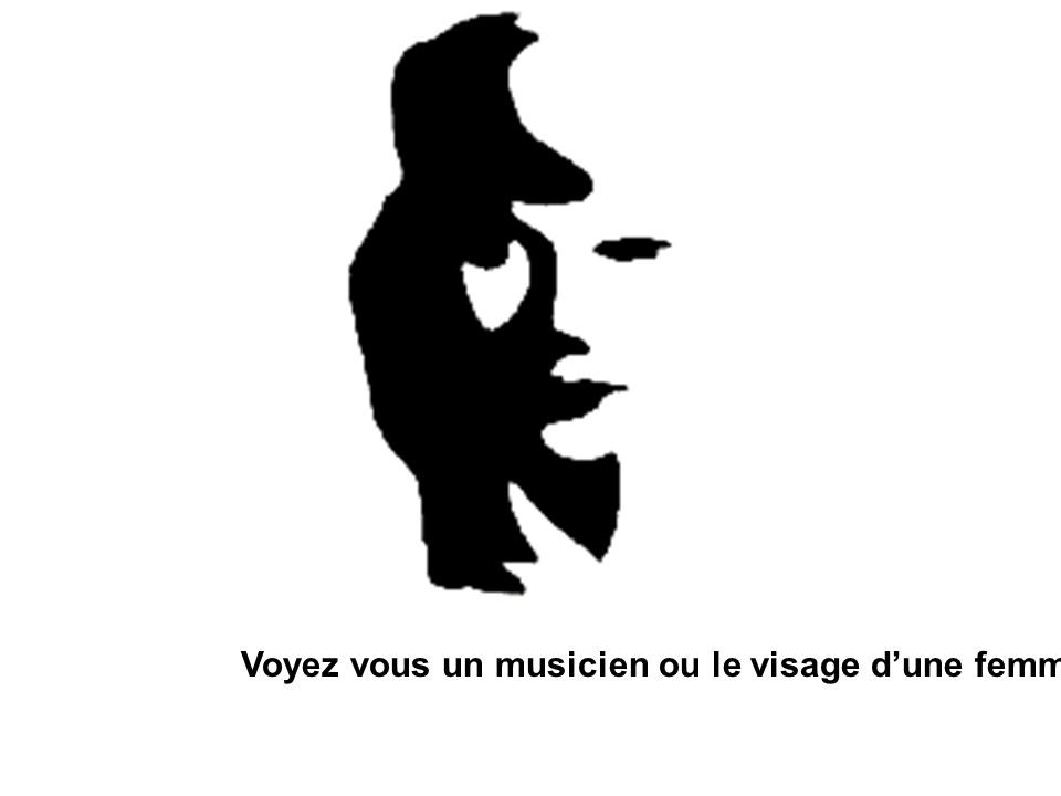 Voyez vous un musicien ou le visage d'une femme